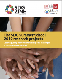 SDGzine special School edition 2: 2019 SDG Summer School projects