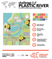 Addictlab Academy launches the Plastic River Challenge.